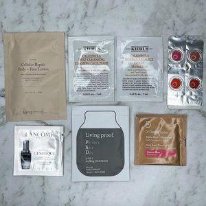 Mecca Beauty Loop Samples Bundle Lancome Kiehl's